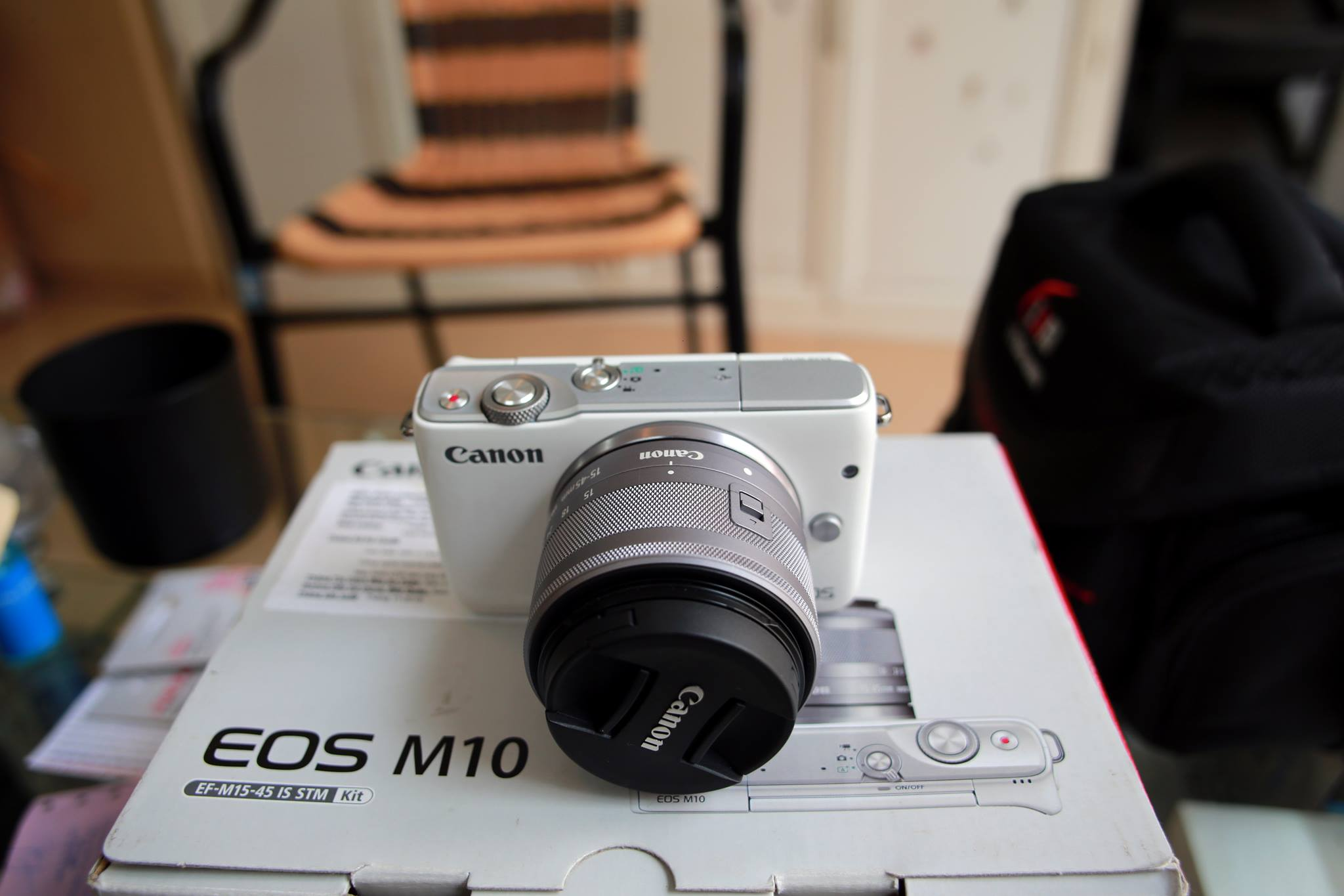 Canon Eos M10 Kit Ef M 15 45mm Stm Chnh Hng 45 22mm